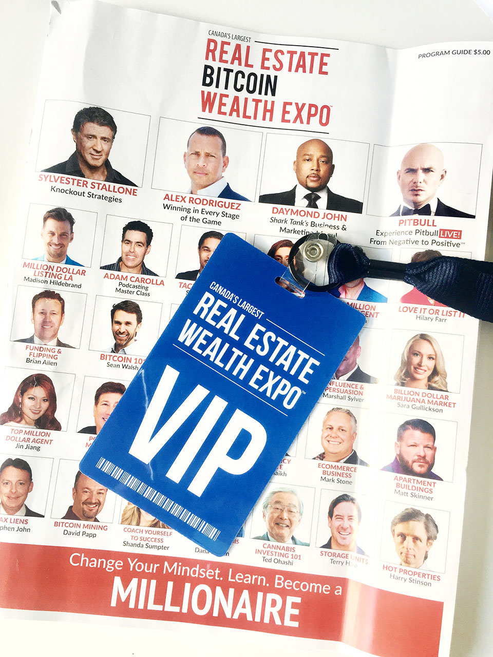 Real Estate Bitcoin Wealth Expo VIP