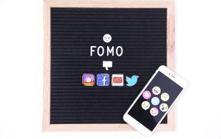 FOMO social media